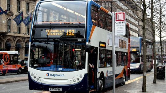A Bus in Manchester