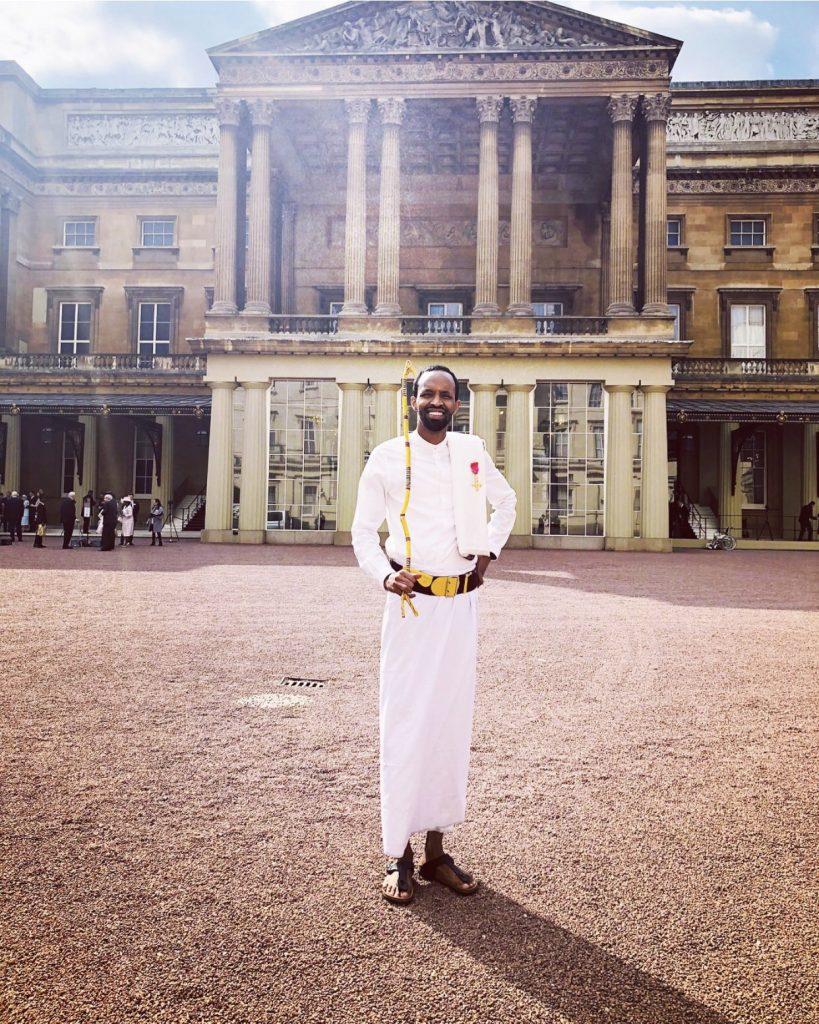 Adam Matan receives OBE at Buckingham Palace - Anti